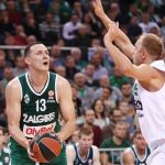 Paulius Jankunas has tied Mike Batiste at 2 pointers made in the Euroleague history